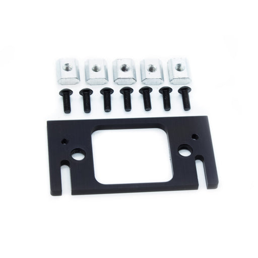 Ender-3 / CR-10 X Axis Linear Rail Mounting Plate & Fasteners - PrinterMods - 3D Printer Accessories - Ender-3 Direct Drive - LED Kits - Other Cool Stuff