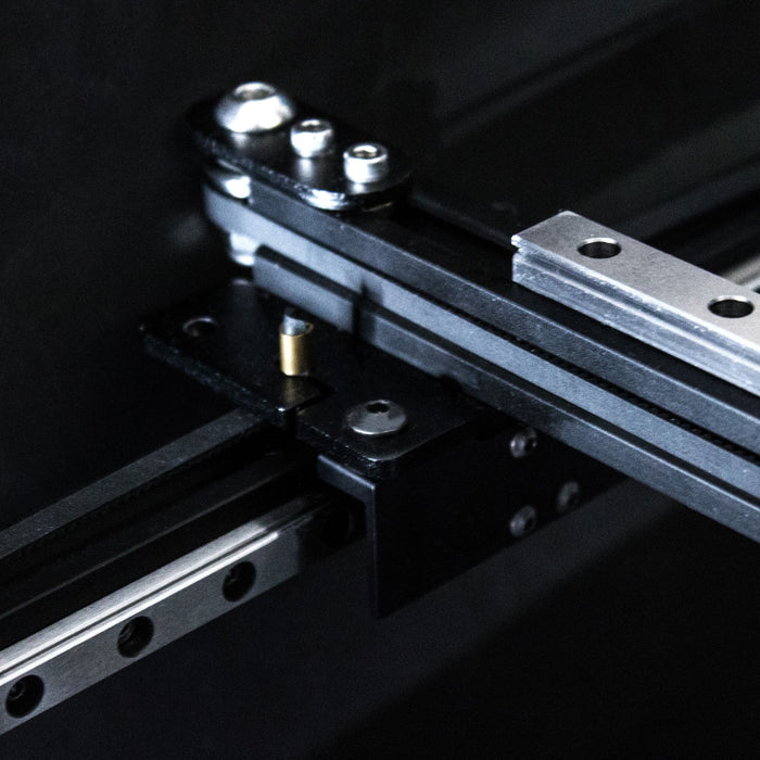 Y-Axis Linear Rail Adapters - Ender-3, Ender-5, CR-10 - Direct bolt on kit - PrinterMods - 3D Printer Accessories - Ender-3 Direct Drive - LED Kits - Other Cool Stuff