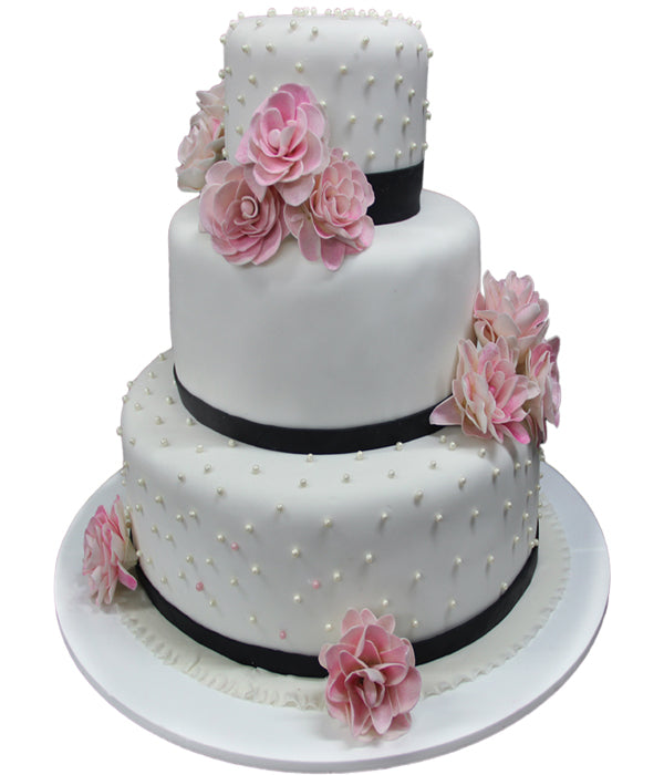 Wedding Three Tier Cake 100260