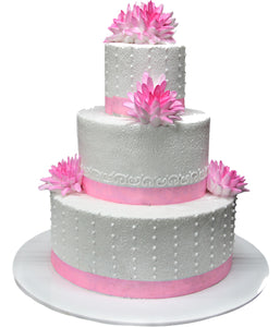 Wedding Three Tier Cake 100387