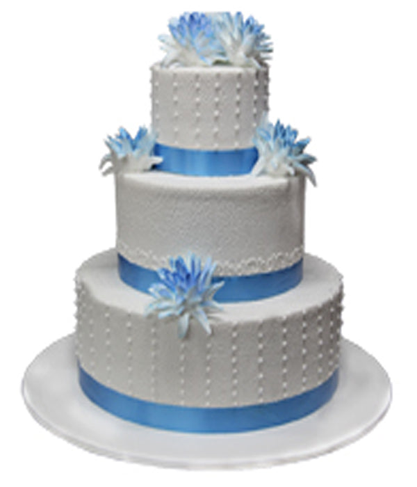 Wedding Three Tier Cake 100388