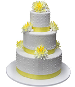 Wedding Three Tier Cake 100389