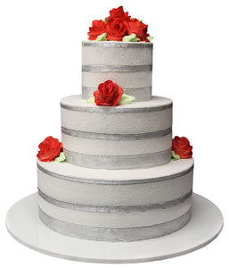 Wedding Three Tier Cake 100390
