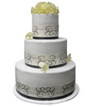 Wedding Three Tier Cake 100393