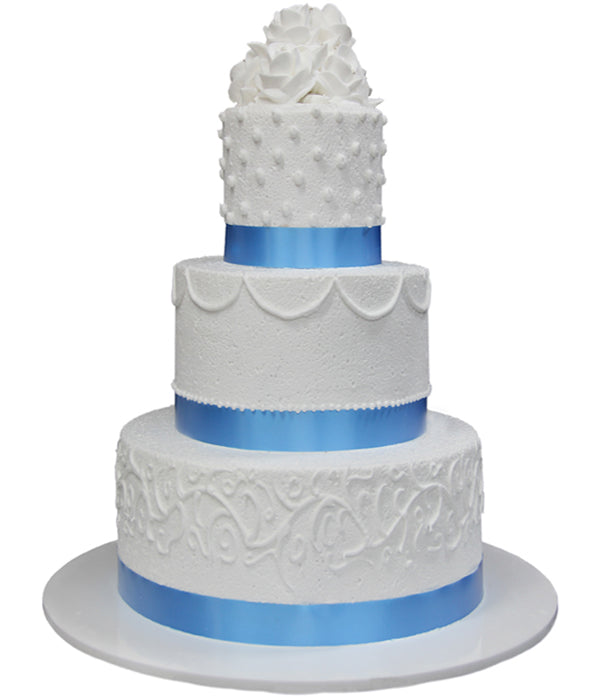 Wedding Three Tier Cake 100394