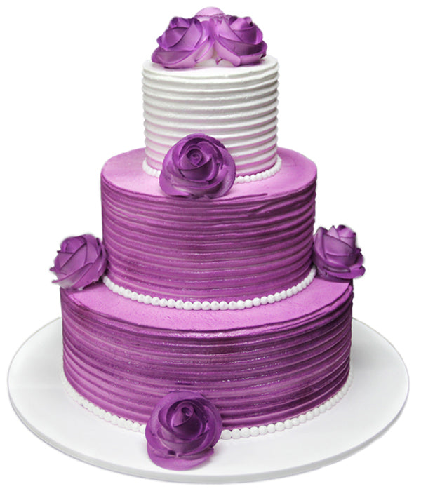 Wedding Three Tier Cake 100400