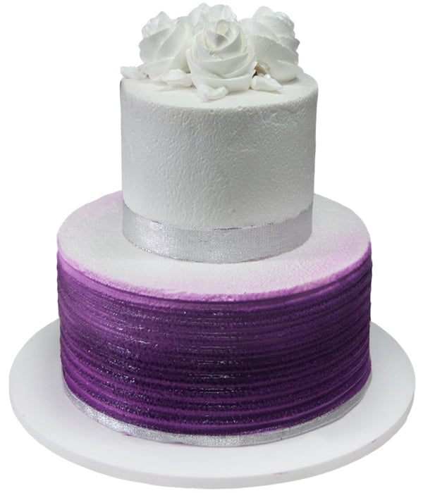 Wedding Two Tier Cake 100402