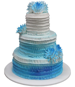 Wedding Three Tier Cake 100405