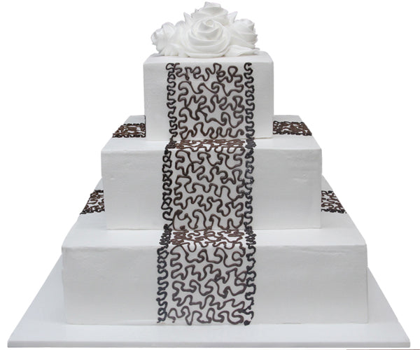 Wedding Three Tier Cake 100407