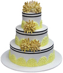 Wedding Three Tier Cake 100411