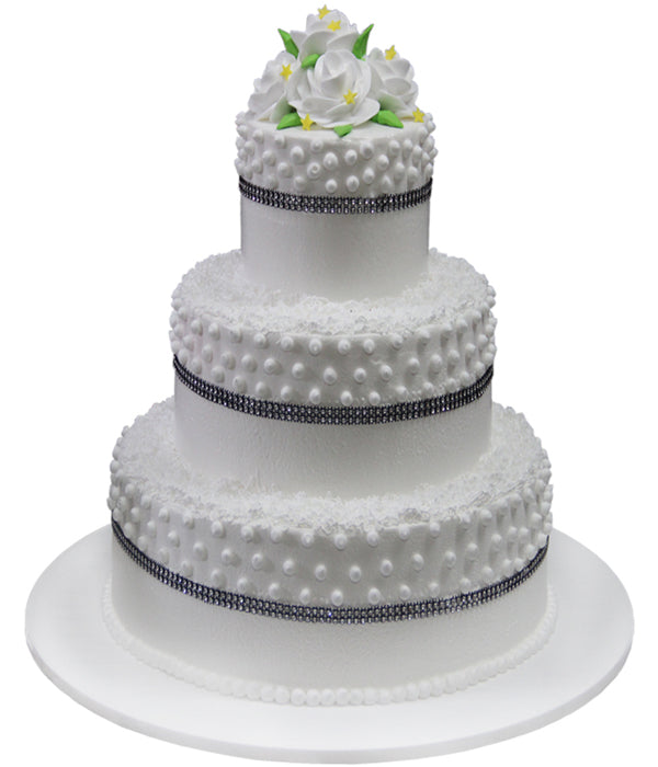 Wedding Three Tier Cake 100412
