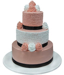 Wedding Three Tier Cake 100413