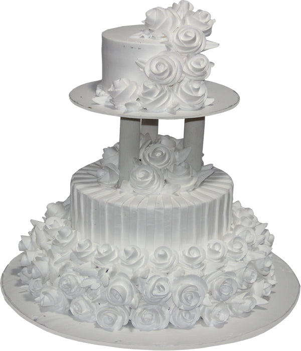 Wedding Two Step Cake 100466