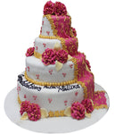 Wedding Four Tier Cake 102046