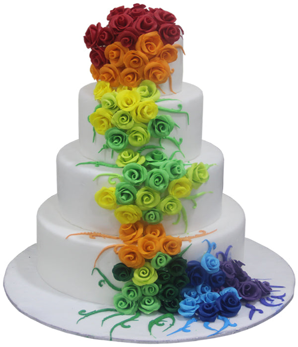 Wedding Four Tier Cake 102051