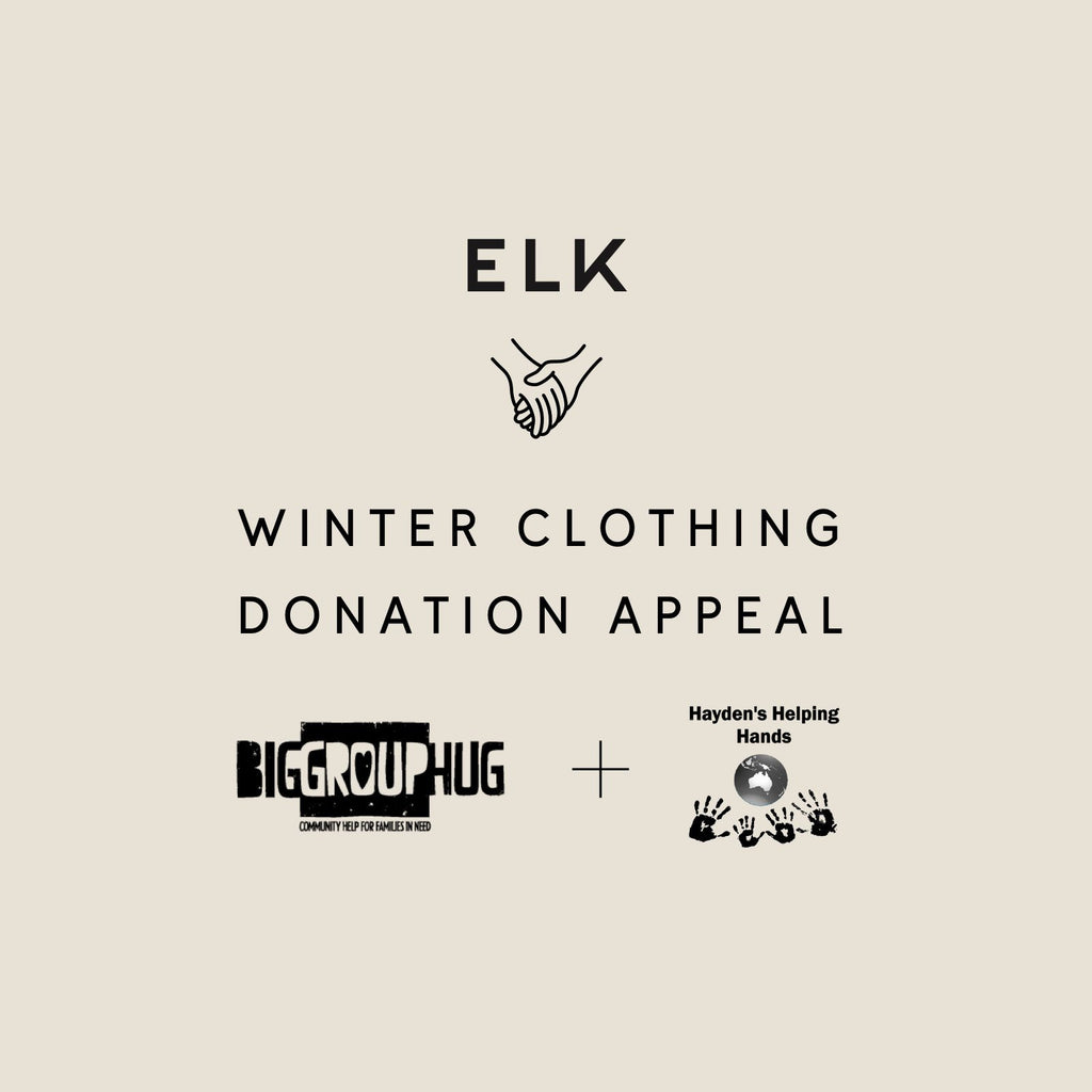 ELK Winter Clothing Donations Appeal
