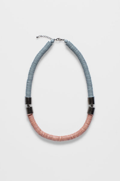 Rope Disc Half Necklace
