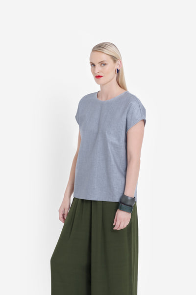 Grey Hersom Top