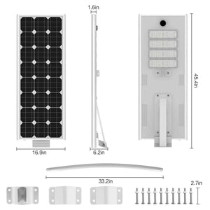 T Series Plus Solar Street Light- 80w (For commercial lighting)