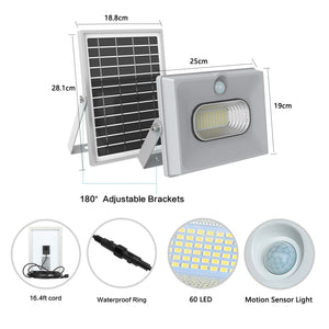 New Solar Flood Light - 50w