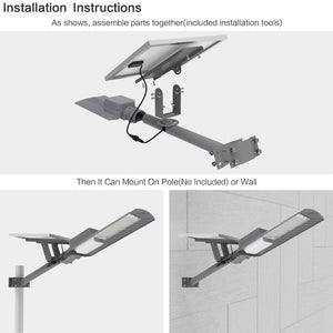 T series Pro Solar Street Lights-3