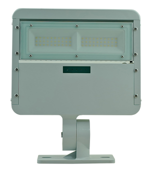 T-60w solar flood light (No motion sensor at 100% brightness & residential lighting)