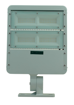 T-80w solar flood light (No motion sensor & commercial lighting at 100% brightness)