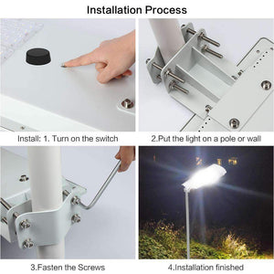 Solar Street Light - 30w (For residential lighting)