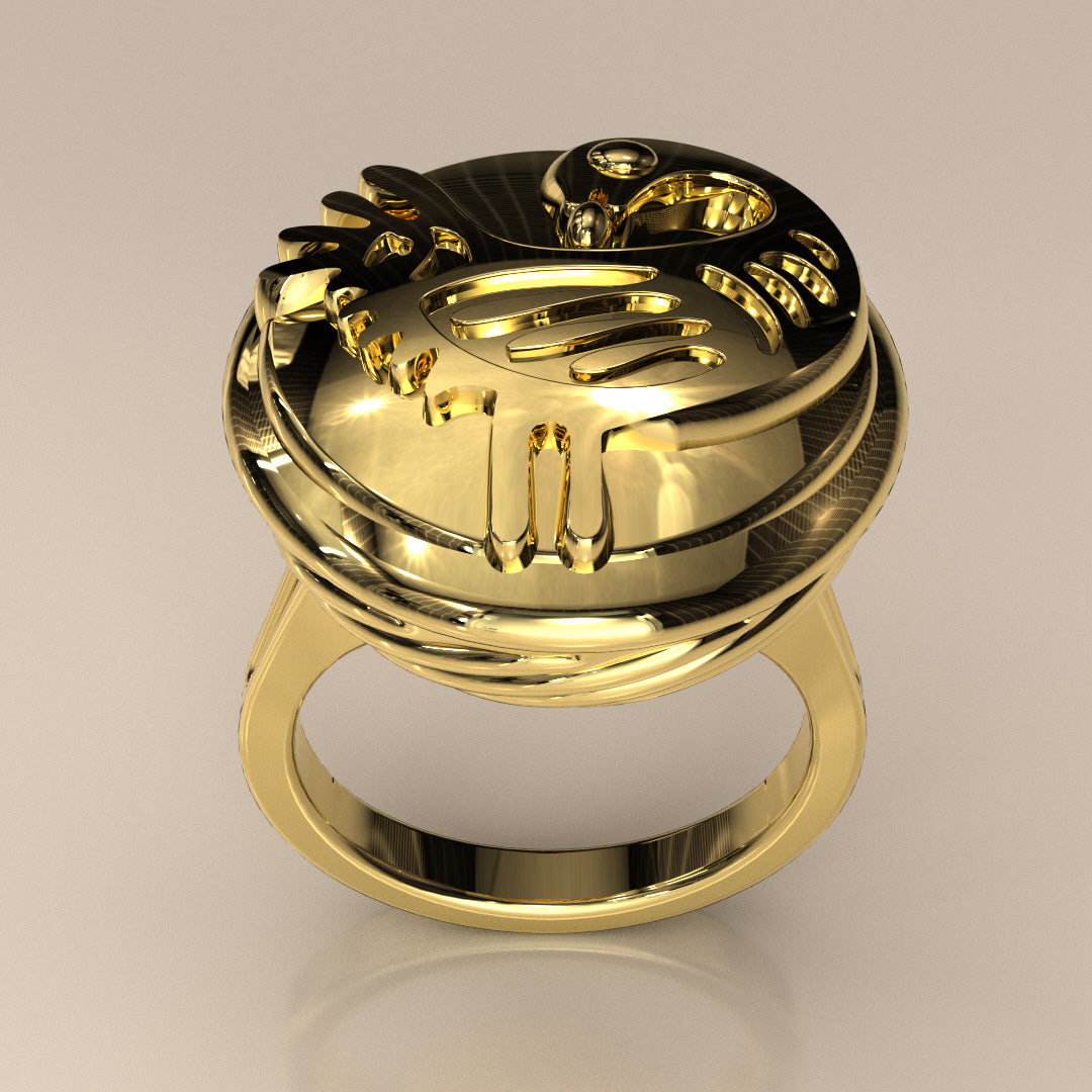 Sankofa Bird Basket_Ring