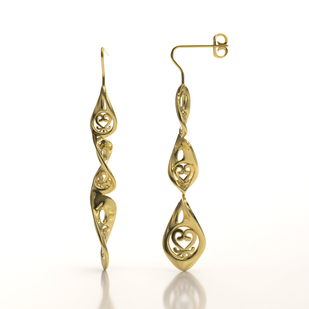 Sankofa Twist Earrings