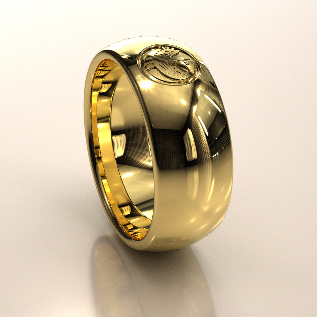 Sankofa Bird Symbol Ring