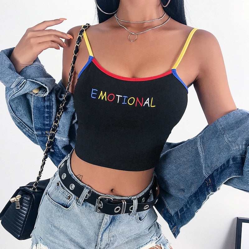 Emotional Crop Top