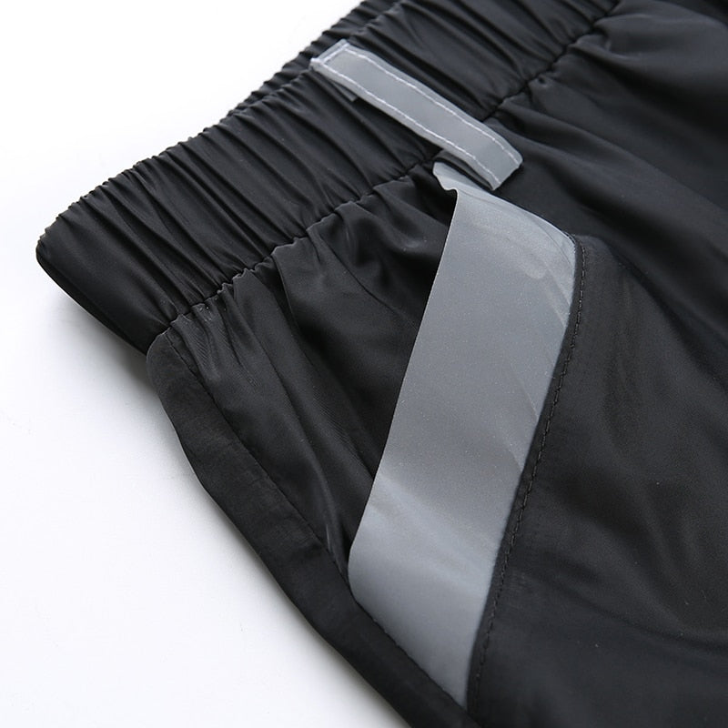 Patchwork Reflective Pants