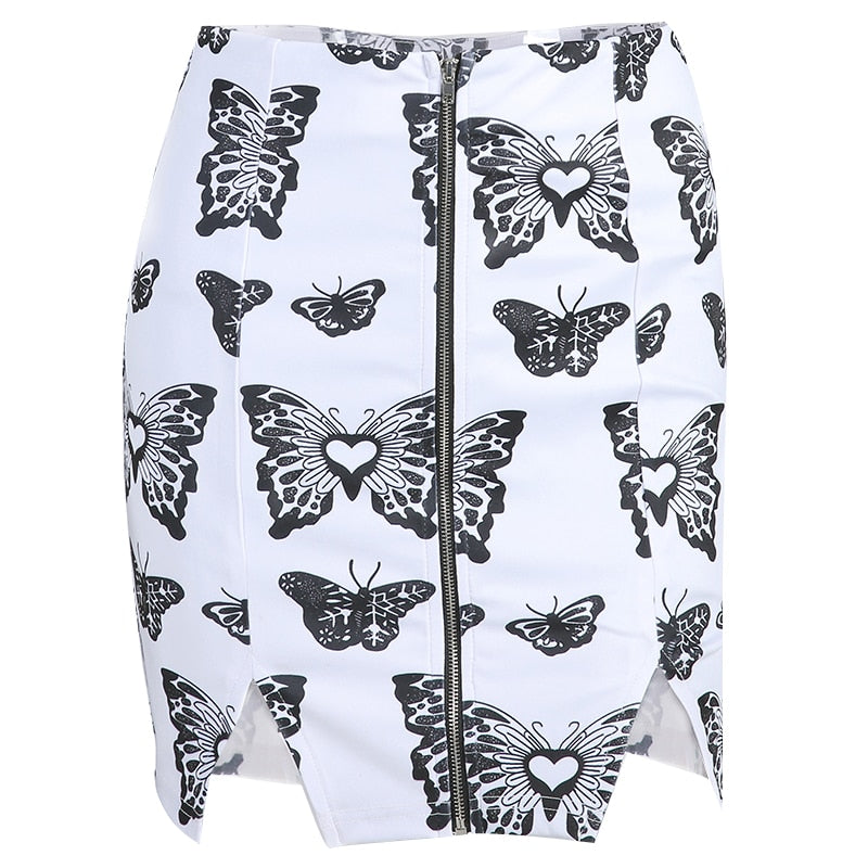 White Butterfly Skirt