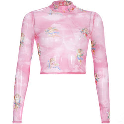Pink Angel Top