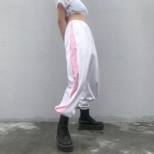 Pink Stripe Pants