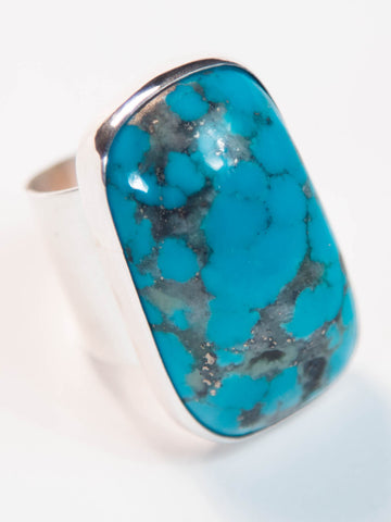 Big And Bold Turquoise Nugget Ring