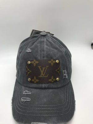 Hills Up-Cycled LV Criss Cross Cap
