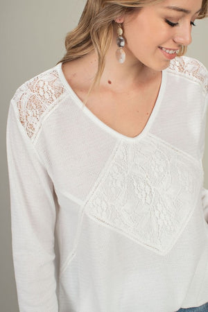 Lacy Thermal Top