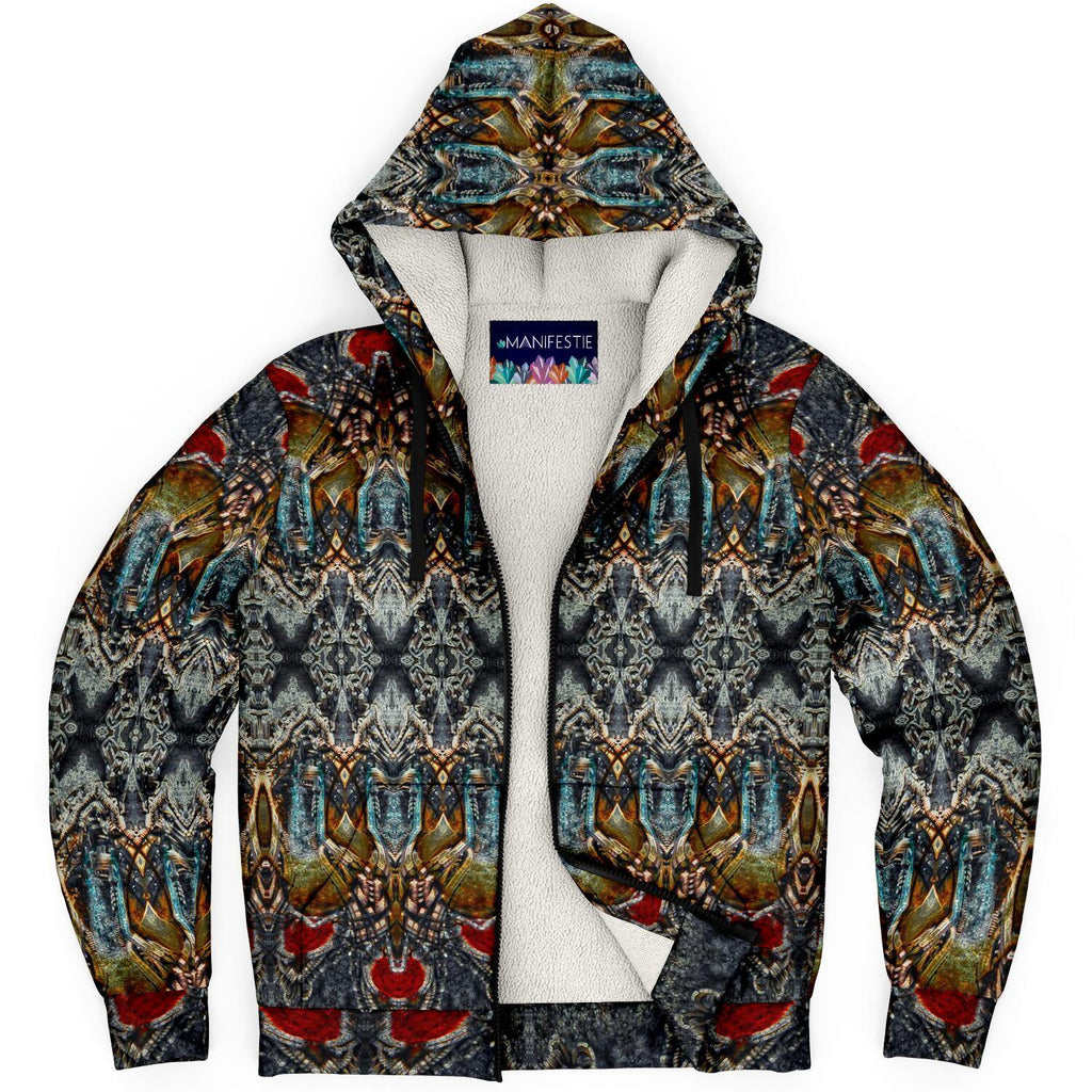 Pharaohs Dream Premium Sherpa Lined Zip Hoodie