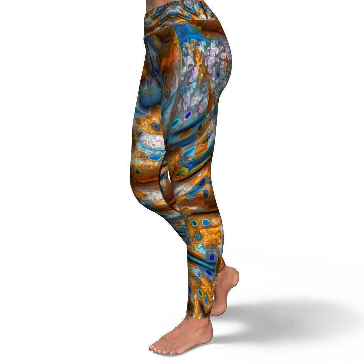 Legends Dragon PREMIUM YOGA LEGGINGS - Manifestie