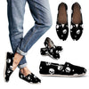 Skulls and Hearts Casual Slip On Shoes