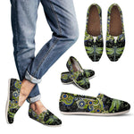 Mandala Dragonfly Casual Slip On Shoes