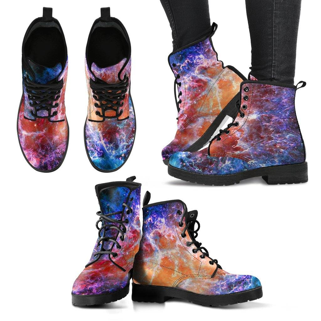 Nebula Vegan Leather Boots