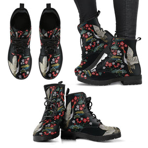 Crane and Fauna Vegan Leather Boots