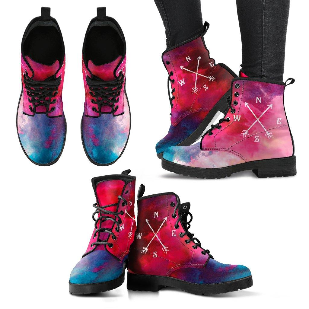 Compass Travel Dreams Vegan Leather Boots