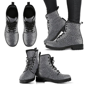 Mosaic Arches Vegan Leather Boots