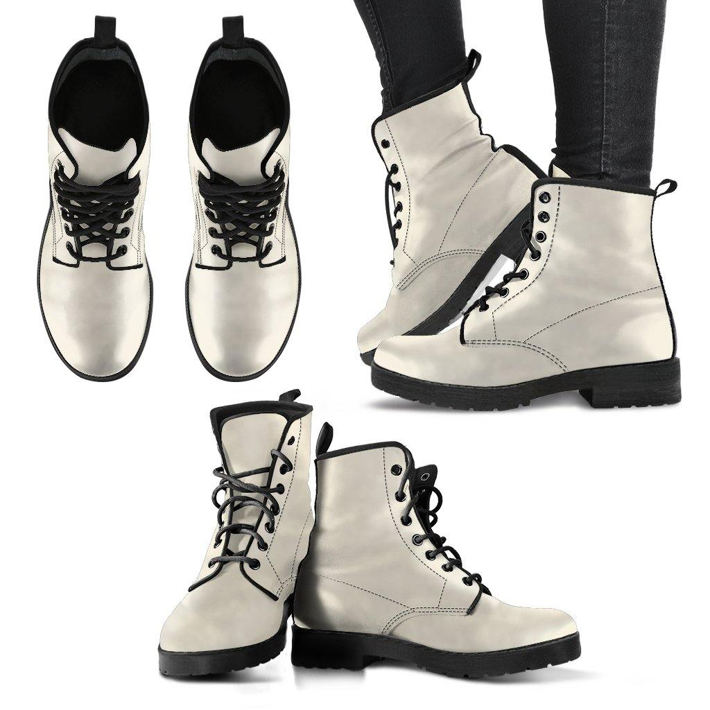 Pearl Vegan Leather Boots