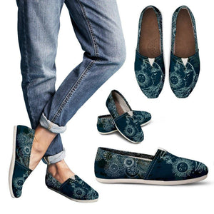 Sun and Moon Blue Casual Slip On Shoes
