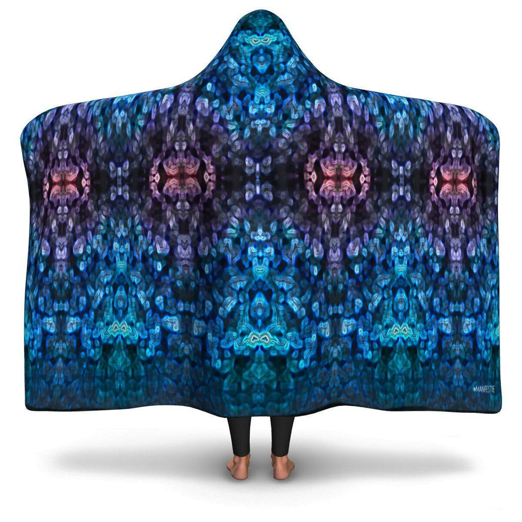 SEA ANEMONE HOODED BLANKET